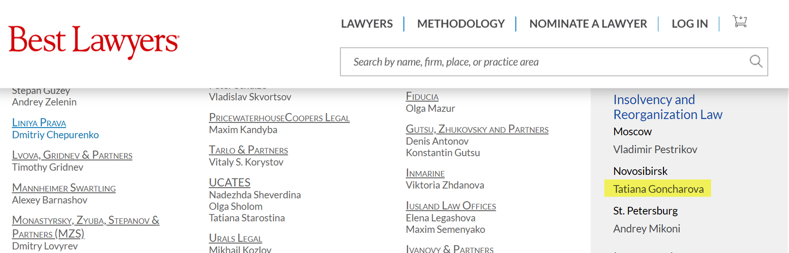 bestlawyers i and r law