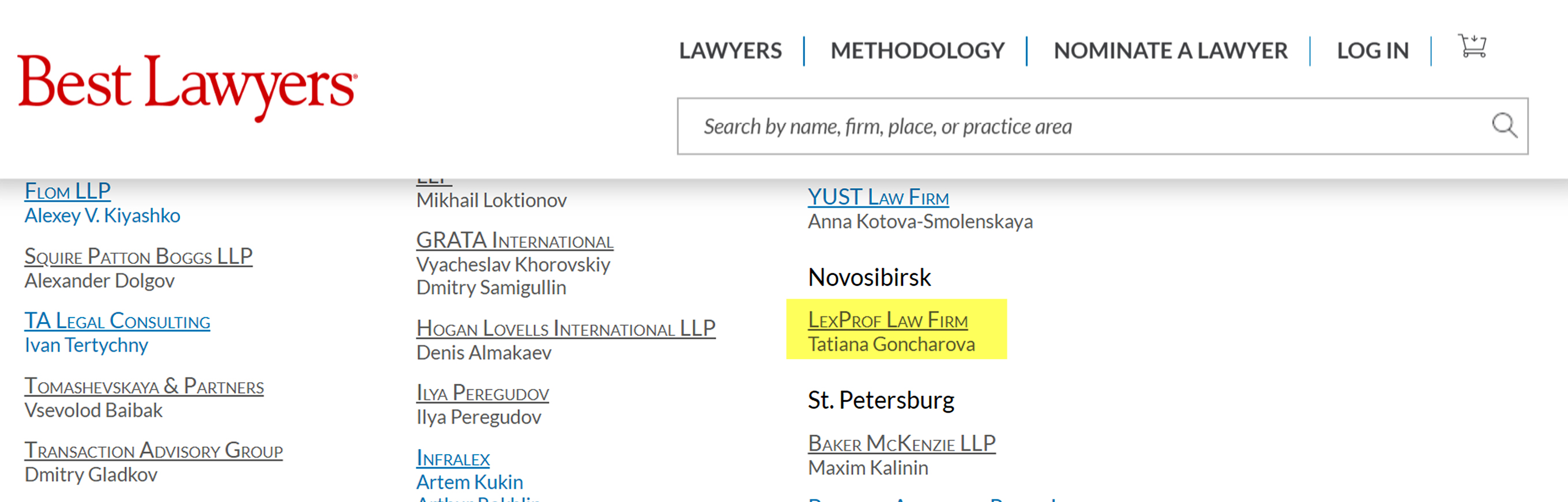 bestlawyers m and a